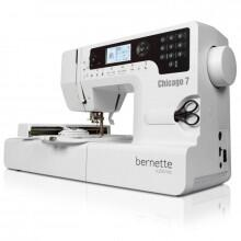 Máquina de Bordar e Costurar  Bernina Bernette Chicago 7